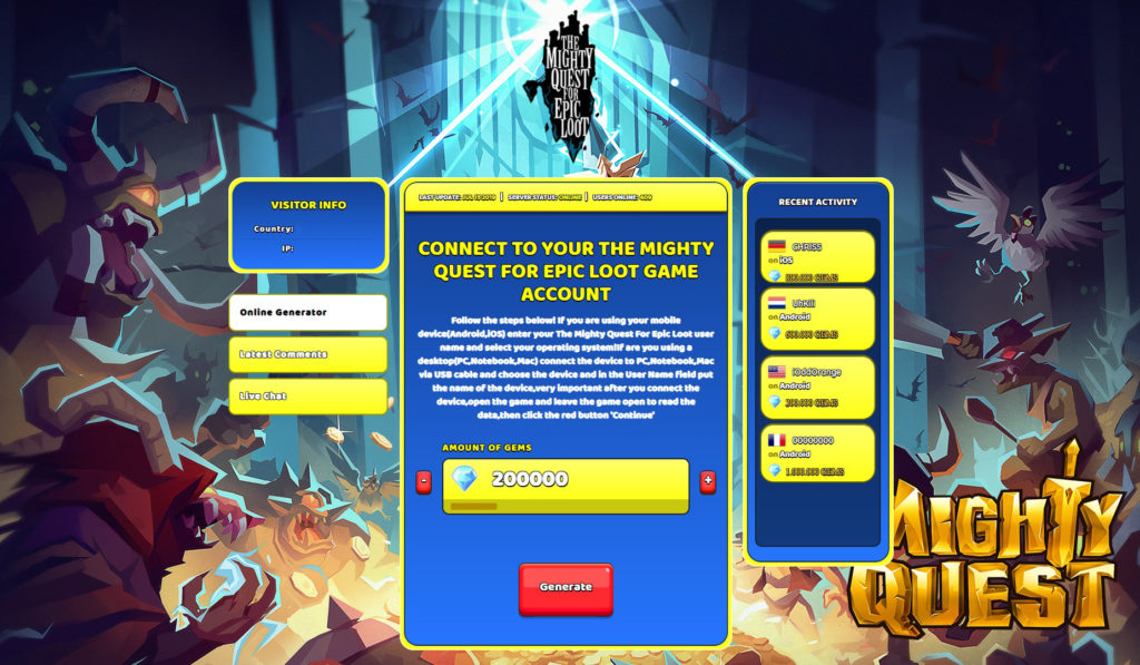 the-mighty-quest-for-epic-loot-cheats-trick