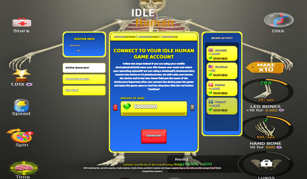 idle-human-hack
