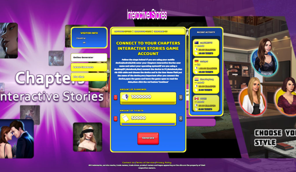chapters-interactive-stories-cheats
