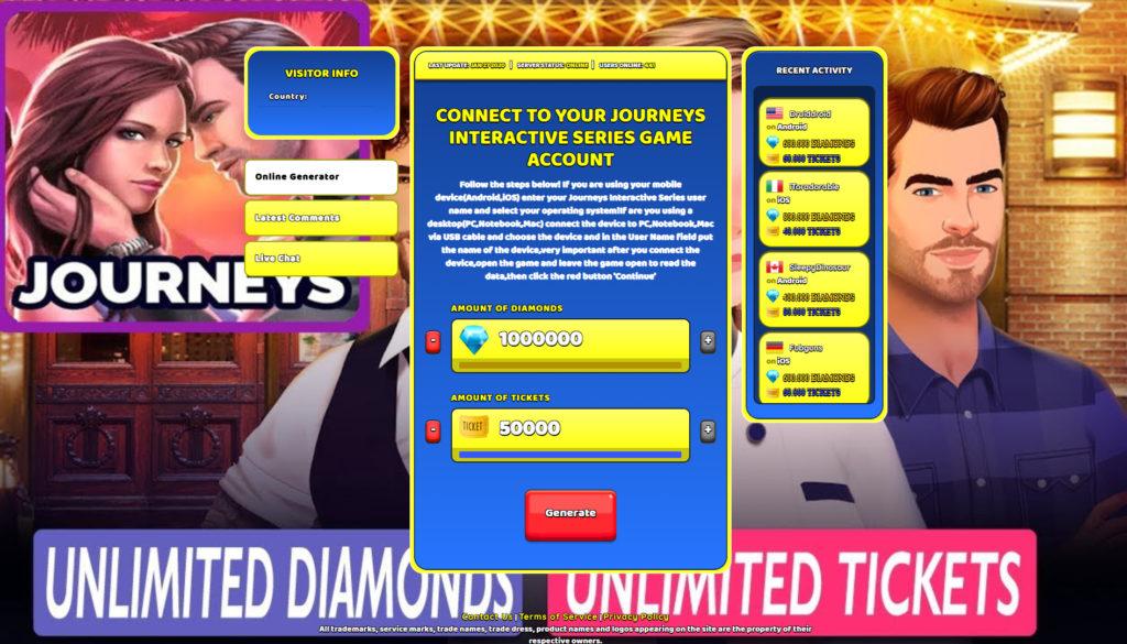journeys-interactive-series-cheats