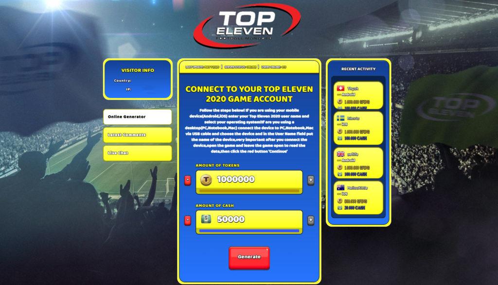 top-eleven-2020-cheats