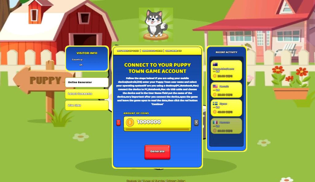 puppy-town-hack