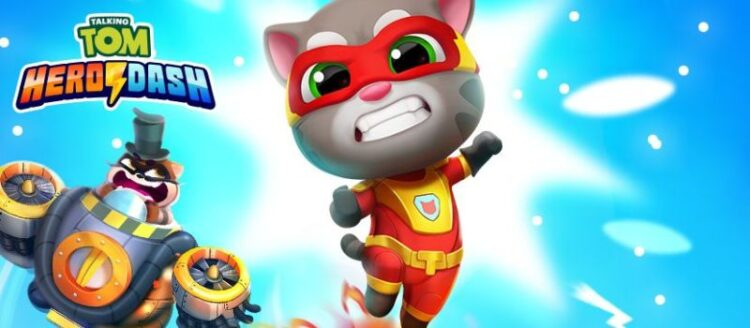 Talking Tom Hero Dash Hack Mod Credits and Coins