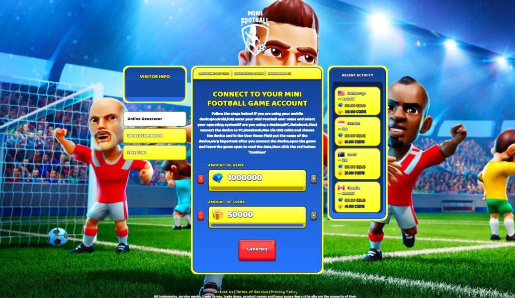 mini-football-cheats