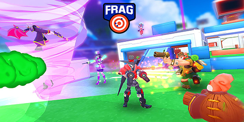 FRAG Pro Shooter Hack Mod Diamonds and Gold
