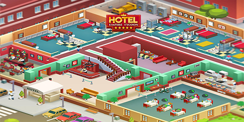 Hotel Empire Tycoon Hack Mod Gems and Cash
