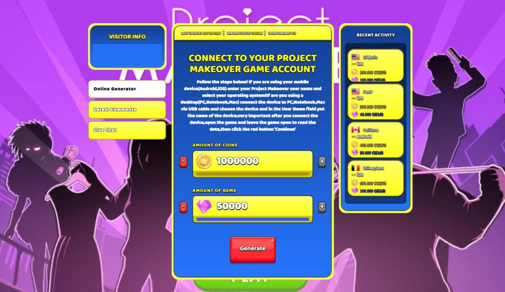 project-makeover-hack-mod