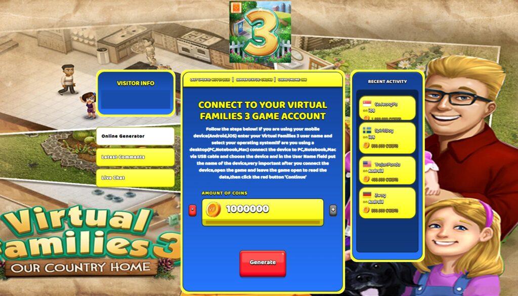 virtual-families-3-hack-mod