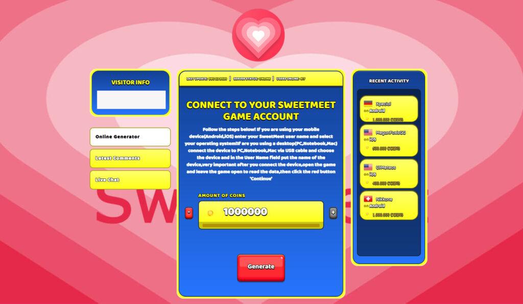 sweetmeet-hack