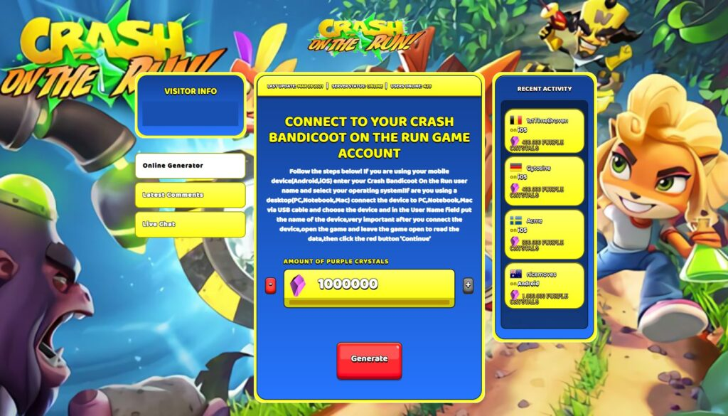 crash-bandicoot-on-the-run-hack