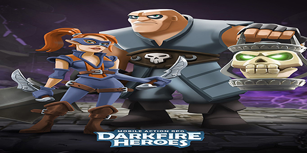 Darkfire Heroes Hack Gold Gems MOD ios android
